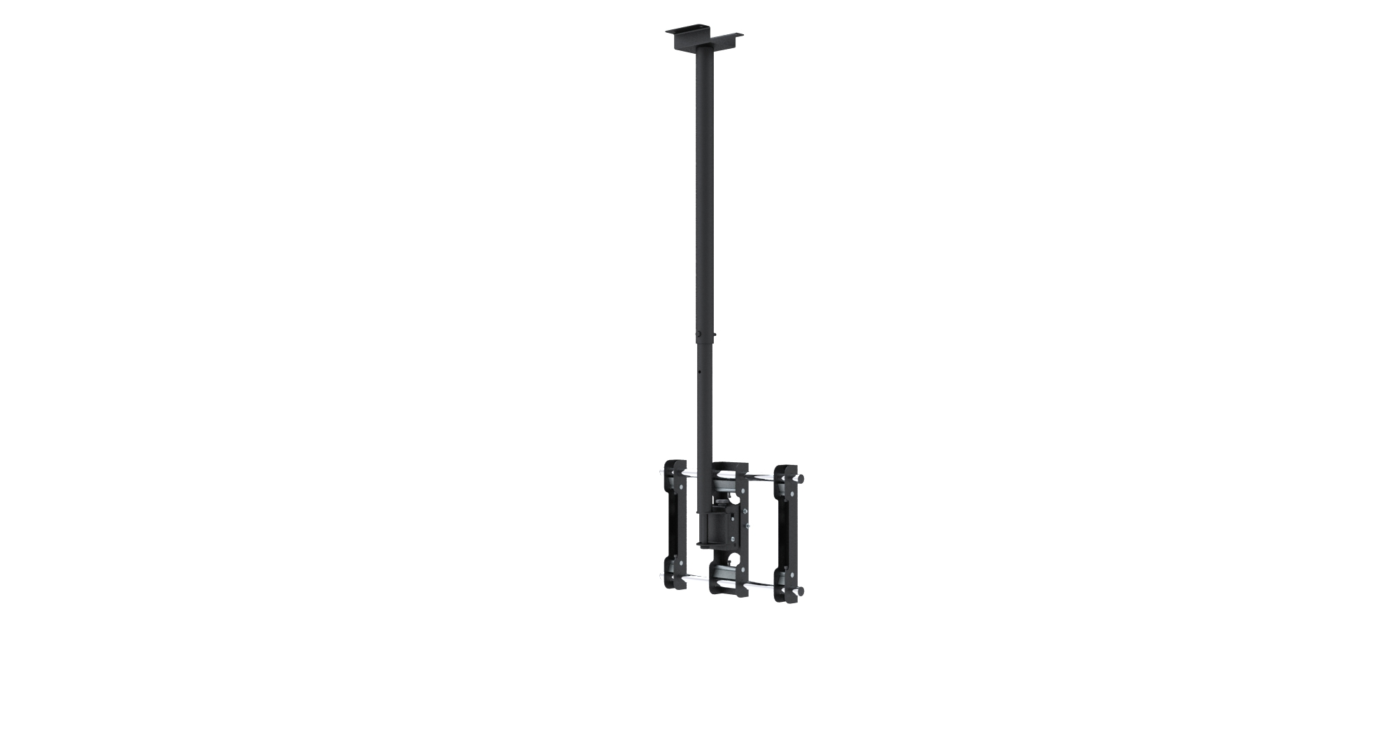 heavy duty ceiling mount for 23 to 42 tv 39 s. Black Bedroom Furniture Sets. Home Design Ideas